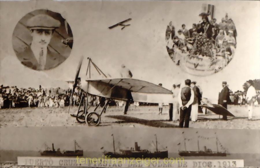 Aterrizaje Poumet Fiestas 02. Julio 1913