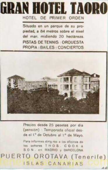 Hotel Taoro Propaganda