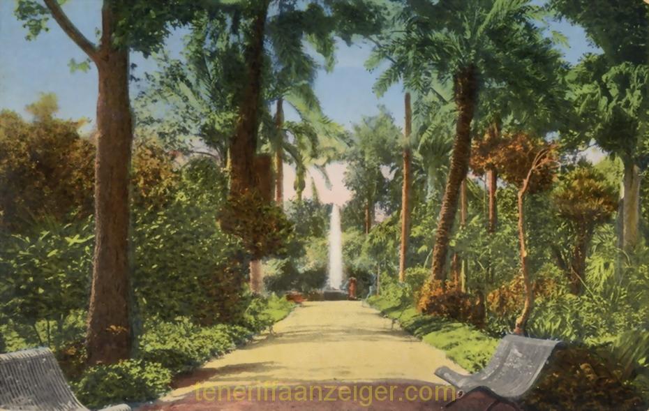 Jardin Botánico 1905