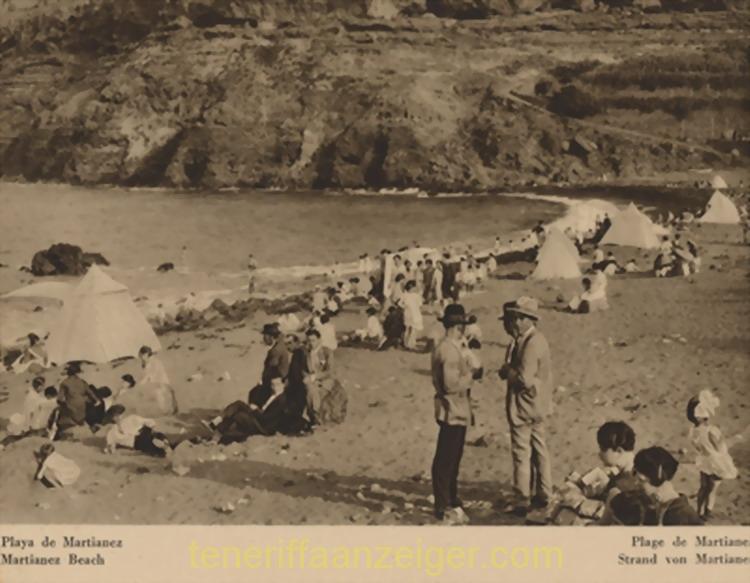 Playa Martiánez 1925