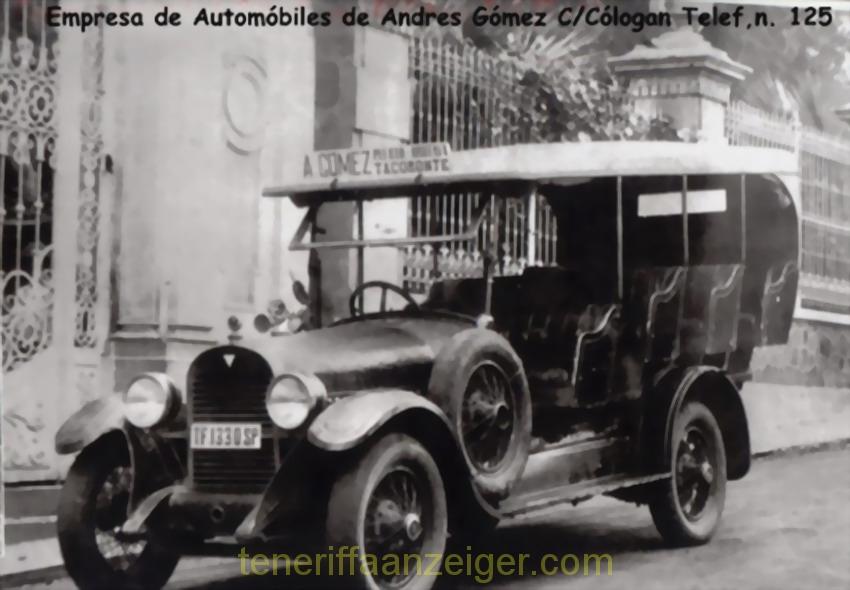 Das Taxi 1955